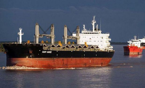 La exportación sumó compras de trigo por 2.703.000 toneladas.