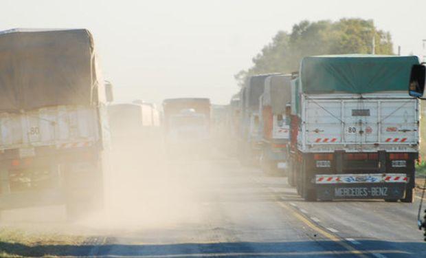 Una vez que se libere el ingreso a Molinos los camiones comenzarán a circular y las rutas quedarán totalmente normalizadas hacia la tarde.