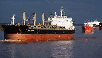 Conflicto portuario: hay más de 35 buques varados para cargar soja