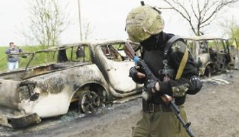 Se rompe la tregua en Ucrania apenas tres días después de acordada