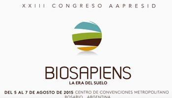 """Abre sus puertas el XXIII Congreso Aapresid: """"Biosapiens, la era del suelo"""""""