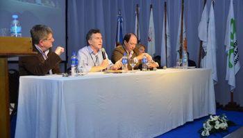 Macri, Carrió y Sanz estuvieron el Congreso de CRA