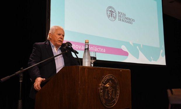 Vicepresidente de la Bolsa, Raúl Meroi.