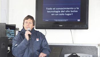 El INTA presentó el 1º Congreso internacional silo bolsa en AgroActiva