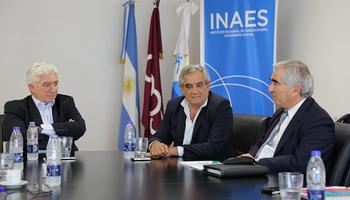 En el marco de la Jornada Nacional de Cooperativismo, Coninagro e Inaes firmaron un convenio