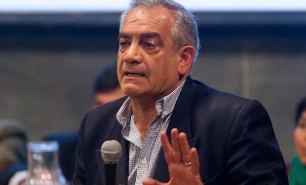 Carlos Iannizzotto, presidente de Coninagro analizó la cosecha del trigo.