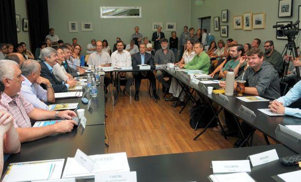 El Consejo Nacional Apícola reunido. Foto: Ministerio de Agroindustria.