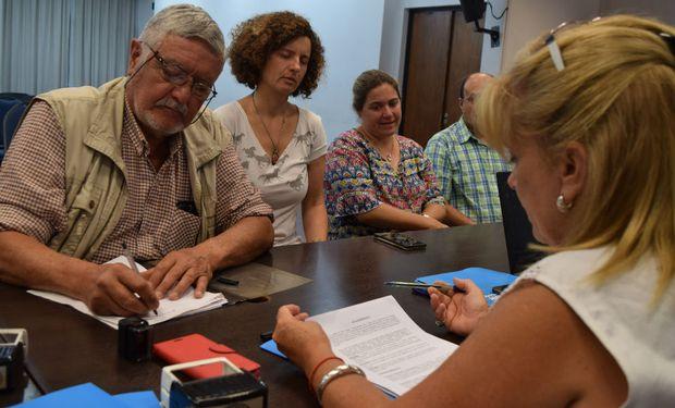 Río Cuarto: productores cordobeses suscribieron a tres nuevos Consorcios de Conservación de Suelos.