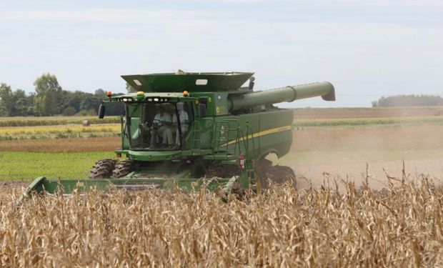 La mayor superficie con maíz, uno de los motivos por los cuales subió el consumo de gasoil.