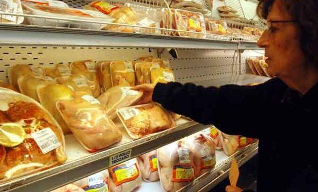 Crece el consumo de pollo y cerdo.