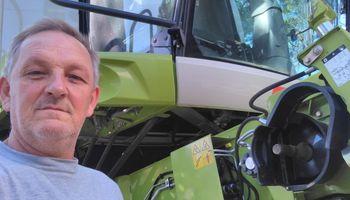 Contratista comparte su experiencia desde Entre Ríos: cosecha trigo con 7,5 litros de combustible por hectárea