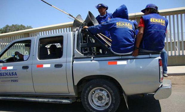 Los inspectores del Senasa asignados en ese lugar solicitaron a la Policía de Rincón de los Sauces la intercepción de las camionetas.