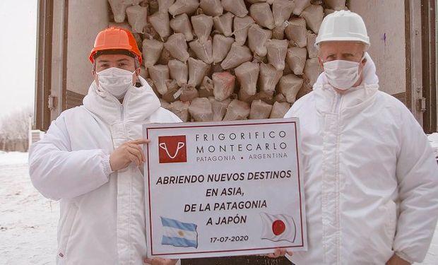 Río Gallegos realizó su primera exportación de cordero patagónico a Japón