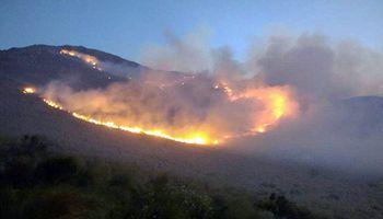 Incendios: Córdoba pedirá la declaración de la emergencia agropecuaria