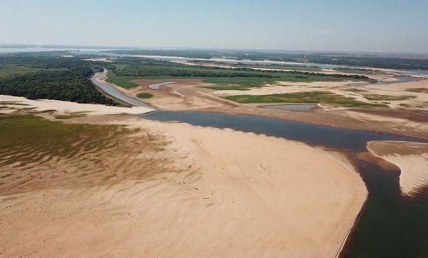 Río Paraná, con bajante histórica: las causas y perspectivas poco alentadoras