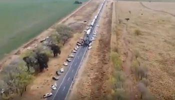 Ruta Nº 7: productores levantaron el corte frente al avance de un protocolo para ingresar a San Luis