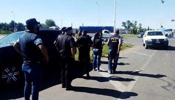 Santa Fe: con un operativo policial, levantan cortes de transportistas autoconvocados