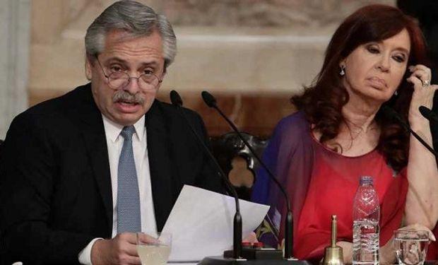 Clases presenciales: Alberto Fernández y Cristina Kirchner, contra el fallo de la Corte Suprema de Justicia