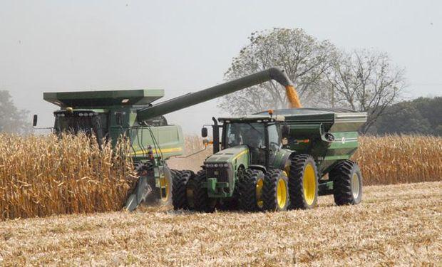 Podría ser menor el área cosechada con maíz en EE.UU.