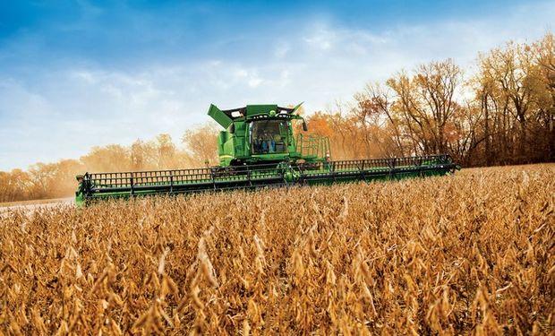 SOJA: cosecha alcanzó un 42% en Estados Unidos.