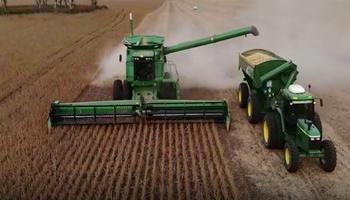 La cosecha desde el aire: productores comparten imágenes del avance en las labores