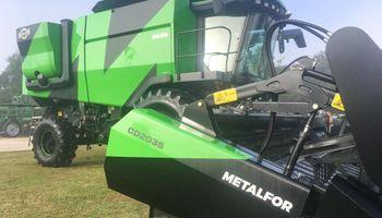 Metalfor apunta a expandir la exportación y potenciar la fabricación de cosechadoras