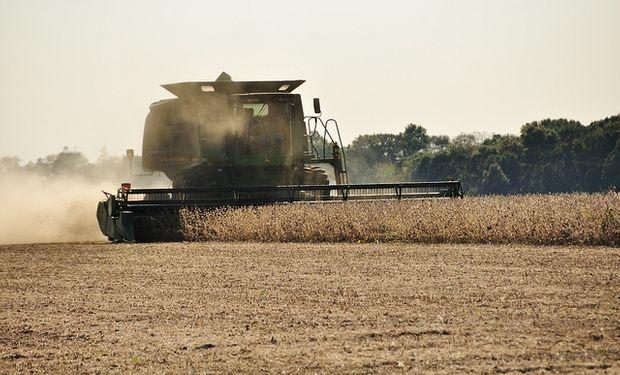 Se recolectó el 95% de la soja estadounidense