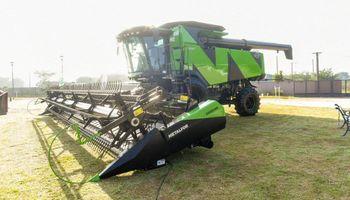 Industria nacional: así funciona la nueva cosechadora de Metalfor