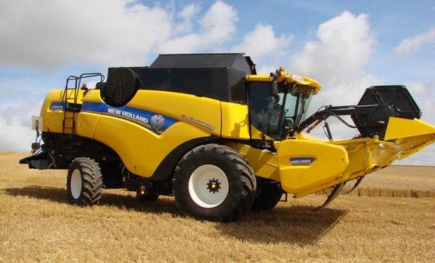 En los primeros ocho meses ingresaron 104 cosechadoras.