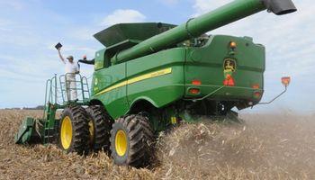 Las cosechadoras superan sus propios récords