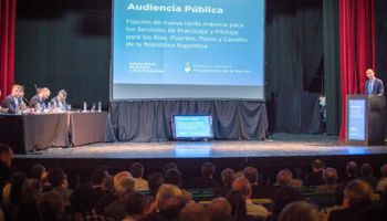 Servicio de practicaje: se celebró la primera audiencia pública en 25 años