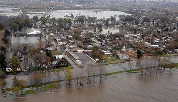 Inundaciones: preocupa la llegada de la sudestada y más lluvias
