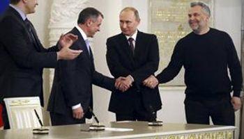 Putin ignoró a Occidente y firmó la anexión de Crimea a Rusia
