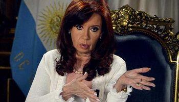 Cristina anunció proyecto para pagar deuda en Buenos Aires