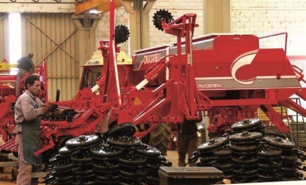 """Crucianelli destacó que """"ofrecer financiación a los clientes es clave para el sector de maquinaria agrícola""""."""