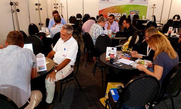 Se generaron 220 reuniones de trabajo en la Ronda Internacional de Negocios de maquinaria y agropartes que se realizó en Expoagro.