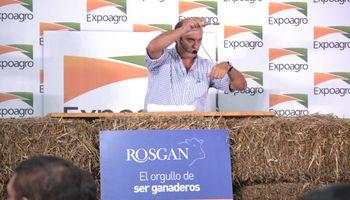 Los valores negociados en el remate de Rosgan en Expoagro