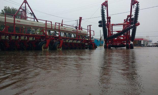 Chaco con lluvias records por dónde se las mire y daño productivo imposible de calcular.