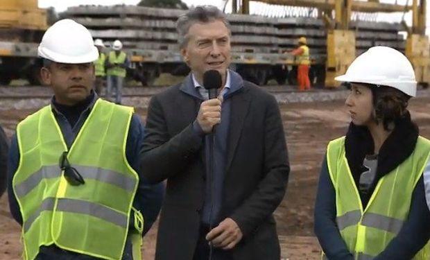 El presidente Macri en Salta.