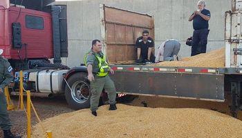 Misiones: secuestran 66 kilos de cocaína en un camión que transportaba maíz