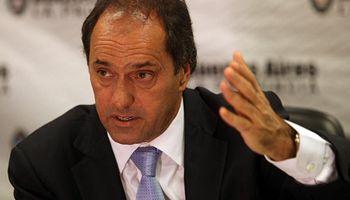 Scioli volvió a declarar la emergencia hídrica
