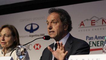 """Scioli: """"Nunca más vamos a pedirle ayuda financiera al Fondo"""""""