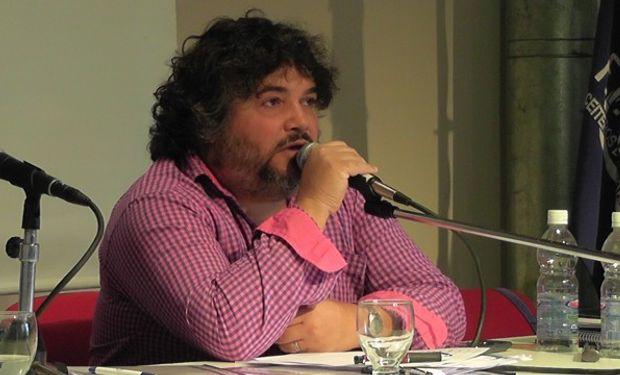Daniel Yofra, secretario general de la Federación Aceitera.