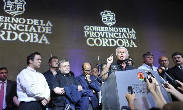 De la Sota: Se firmó el acuerdo con los policías