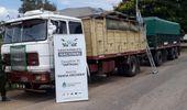 Secuestran más de 100 toneladas de soja y maíz por contrabando