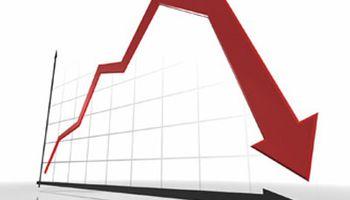 Tras el dato del PBI, los cupones se desplomaron 53%