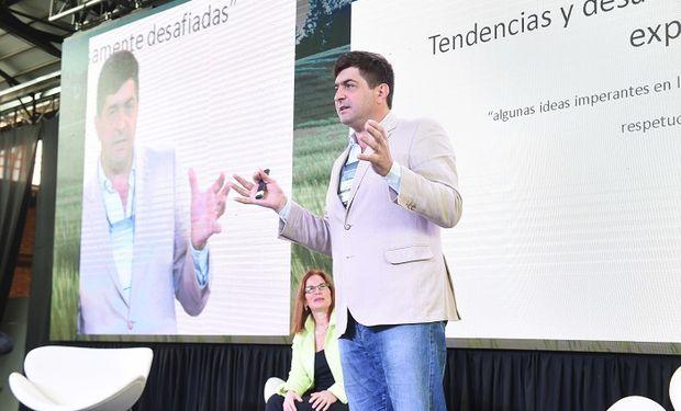 Gabriel Delgado, director del Centro de Investigación en Ciencias Políticas, Económicas y Sociales del INTA.