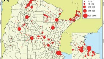 El mapa del dengue: las zonas afectadas, el rol del cambio climático y el impacto en el campo