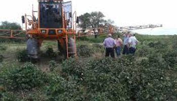 Córdoba clausuró una pulverizadora por aplicar en condiciones ilegales