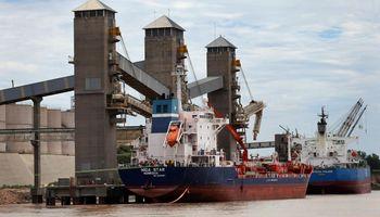 Aumentó el compromiso de embarque de trigo y se recupera la altura del río Paraná